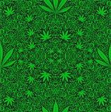 Marihuany świrzepa ilustracja wektor