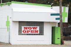 Marihuany Dispensary sklep zdjęcie stock