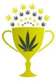 Marihuany filiżanka Zdjęcia Stock