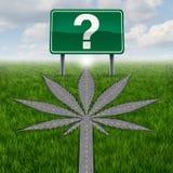 Marihuany marihuany pytania royalty ilustracja