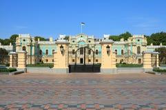 Mariinsky宫殿在基辅 库存照片