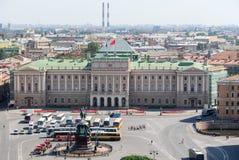 Mariinsky宫殿-圣彼得堡,俄罗斯 免版税库存照片