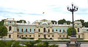 Mariinsky pałac w Kijów w Ukraina Fotografia Stock