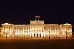 Mariinsky palace (city hall of St. Petersburg) Stock Image