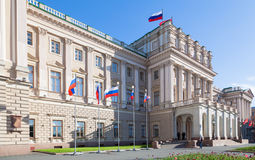 Mariinsky Palace Stock Images