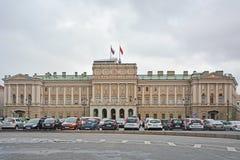 Mariinsky palace in Saint Petersburg, Russia Royalty Free Stock Photo