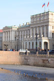 Mariinsky Palace in St.Petersburg. Royalty Free Stock Images