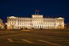 Mariinsky Palace summer night. St. Petersburg Stock Photography
