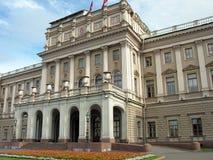 Mariinsky-Palast in St Petersburg Russland Stockbilder