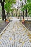 Mariinsky Park in Kiev Royalty Free Stock Photography