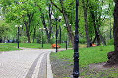 Mariinsky parkerar, Kiev Royaltyfri Bild