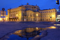 Mariinskytheater, Heilige Petersburg, Rusland Royalty-vrije Stock Foto
