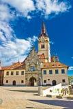 Marija Bistrica - kroatisk marianic relikskrin royaltyfri foto