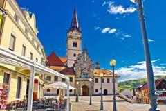 Marija Bistrica marianic sanctuary in Croatia Royalty Free Stock Photography