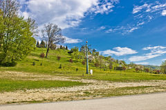 Marija Bistrica pilgrim hill sanctuary Royalty Free Stock Images