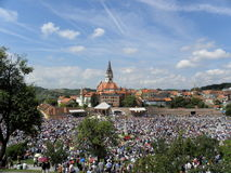 Marija Bistrica, santuário, Croácia fotografia de stock royalty free