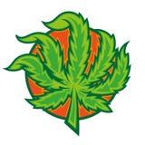 marijuana illustration stock