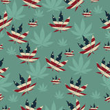 marijuana Fotografie Stock Libere da Diritti