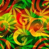 Marijuana Background. Stock Images