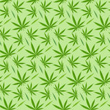 Marijuana background vector seamless patterns Stock Photo