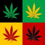 Marijuana-Cannabis-background Stock Image