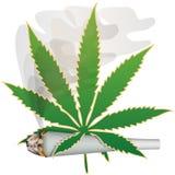 Marijuana-Cannabis-Joint Royalty Free Stock Image