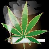 Marijuana-Cannabis-Joint Royalty Free Stock Photography