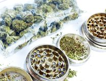 Marijuana Royalty Free Stock Images