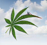 Marijuana Concept Royalty Free Stock Photo