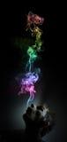 Marijuana di fumo Immagini Stock
