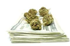 Marijuana, Drug Money Royalty Free Stock Photo