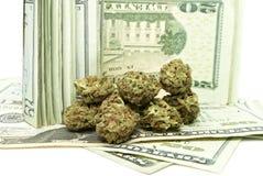 Marijuana, Drug Money Stock Photography