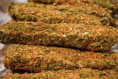 Marijuana drug unhealthy Royalty Free Stock Image