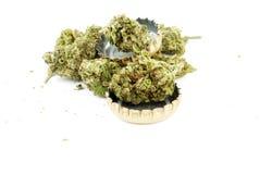 Marijuana e álcool foto de stock