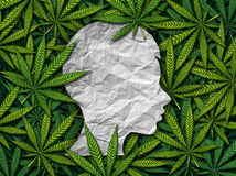 Marijuana e bambini illustrazione di stock