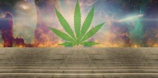 marijuana ilustração stock