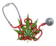Marijuana Health Care Royalty Free Stock Photos