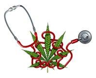 Marijuana Health Care Royalty Free Stock Photos