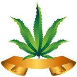 Marijuana Icon Stock Photo