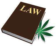 Marijuana law Stock Image
