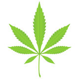 Marijuana leaf 2 Royalty Free Stock Image