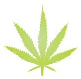 Marijuana leaf illustration Stock Photo