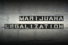 Marijuana legal GR Stock Photo
