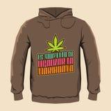 Marijuana legalizar do la do de do momento do Es - tempo do ` s legalizar o espanhol da marijuana text Fotos de Stock Royalty Free