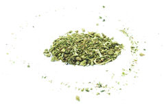 Marijuana, Legalization, White Background Studio, Recreational Cannabis Stock Image