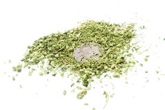 Marijuana, Legalization, White Background Studio, Recreational Cannabis Stock Images