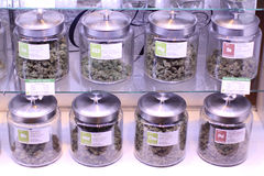 Marijuana médica Imagem de Stock