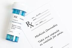Marijuana médica Imagens de Stock Royalty Free