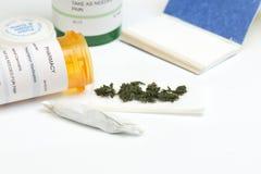 Marijuana médica imágenes de archivo libres de regalías