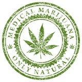 Marijuana médica ilustración del vector